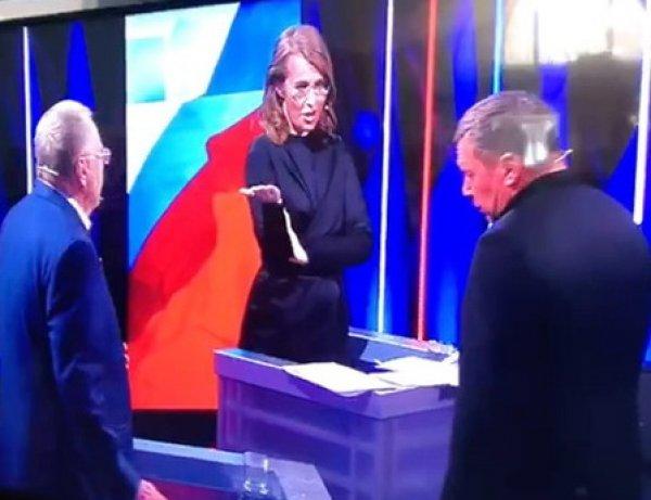 На YouTube появилось видео матерных разборок Собчак и Жириновского