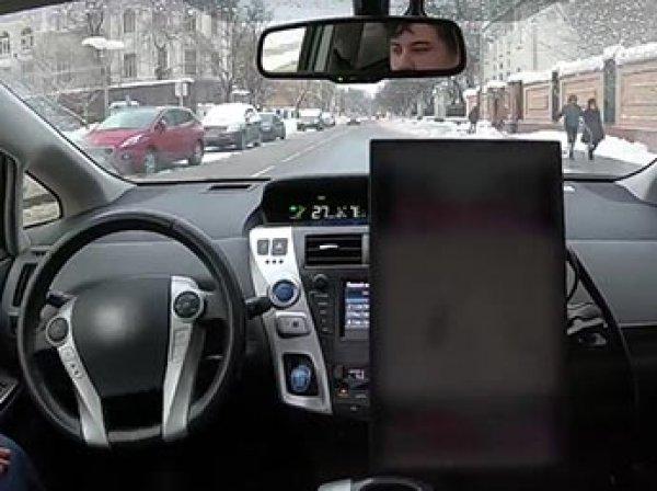"""""""Яндекс"""" показал видео первой поездки беспилотного такси по улицам Москвы"""