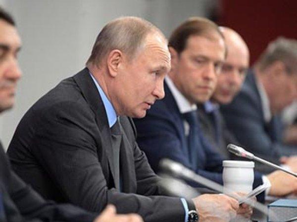 Песков рассказал, почему Путин внезапно отменил все встречи