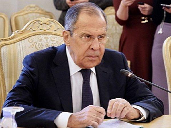 Лавров рассказал об ответных мерах на высылку российских дипломатов
