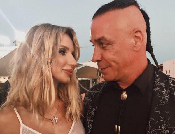 СМИ: украинская певица Светлана Лобода ждет ребенка от солиста Rammstein
