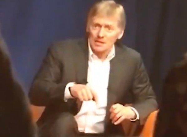 """""""Болезненный нарцисс и эгоист"""": Песков высказался о Навальном"""