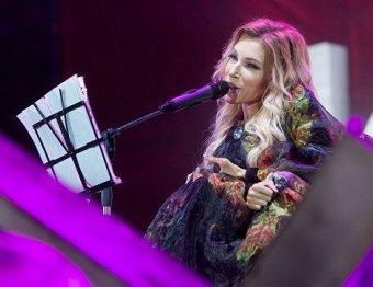 Фото «платья-горы», в котором Самойлова выступит на «Евровидении», появилось в Сети