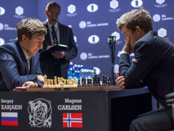 Шахматист Карлсен заподозрил Карякина в участии в договорном матче