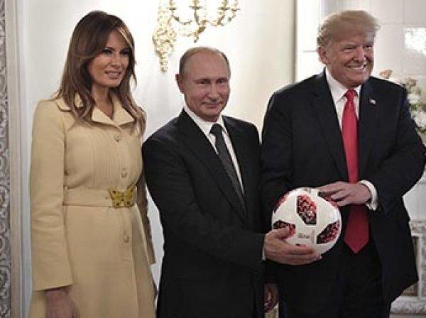 """Психолог объяснил, почему Меланью Трамп """"перекосило"""" после рукопожатия Путина"""