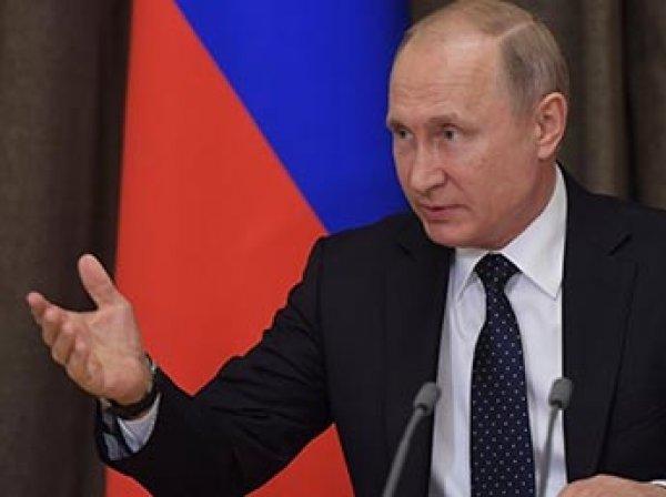 Путин продлил контрсанкции и продуктовое эмбарго