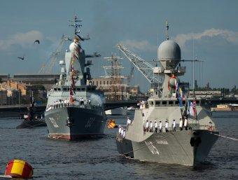 Парад ВМФ в Санкт-Петербурге 2018: программа мероприятий, салют, где смотреть, место проведения (ВИДЕО)