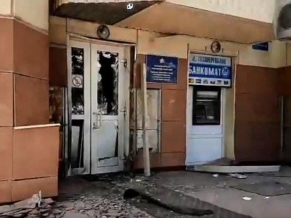 В Калуге взорвали входные двери ПФР