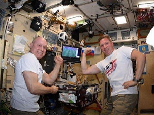 На МКС состоялся первый космический турнир