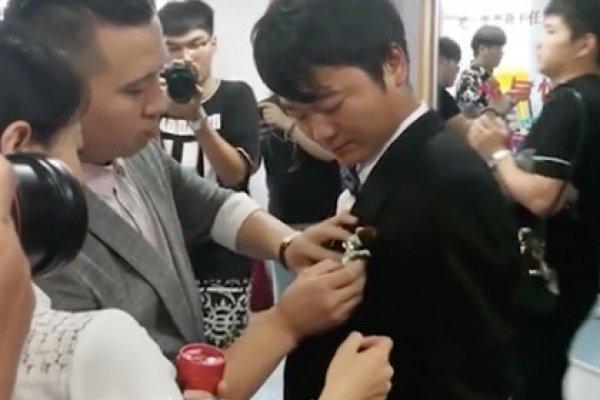 В Китае невеста умерла прямо во время собственной свадьбы