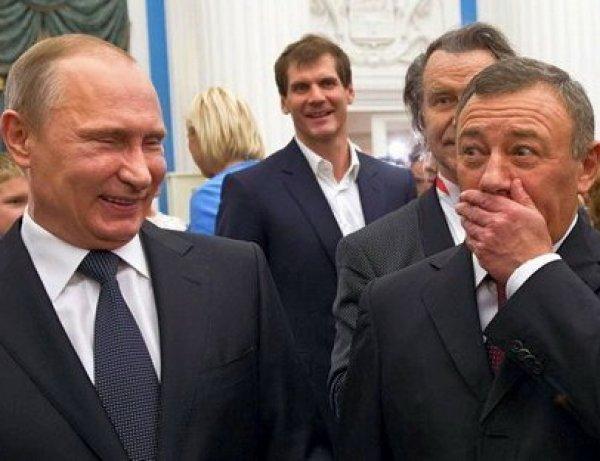 """""""Было бы глупо называть его на """"вы"""": Ротенберг рассказал о """"мальчишеских забавах"""" с Путиным"""