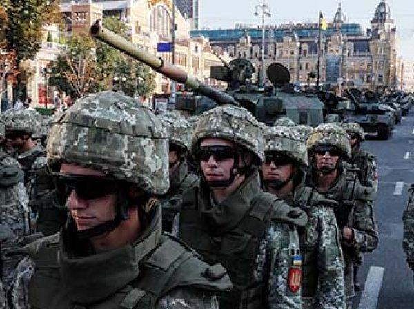 """На Украине высмеяли слова Порошенко о """"самой сильной армии"""""""
