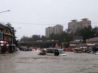 Наводнение в Туапсе сегодня, 24.10.2018: видео жуткого потопа появилось в Сети, есть жертвы