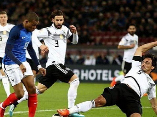 Франция – Германия: счет 2:1, обзор матча от 16.10.2018, видео голов, результат ЛН (ВИДЕО)