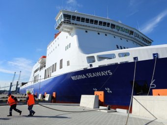 Взрыв на пароме в Балтийском море: появились первые фото места ЧП