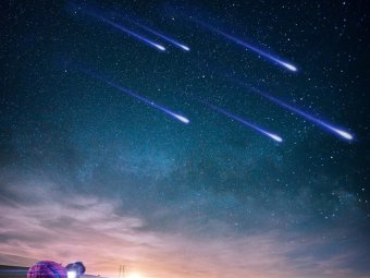 Звездопад 2018: в декабре в Москве можно увидеть сразу два метеорных потока
