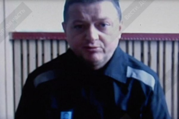 Видеообращение Цеповяза из колонии показали в эфире федерального ТВ