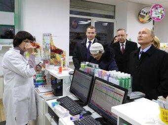 """СМИ: """"бабушка без нервов"""" в аптеке с Путиным купила лекарств на 2,6 тысячи при пенсии в 9 тысяч"""