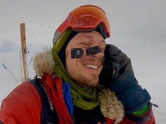 Американец стал первым человеком в истории, который в одиночку пересек Антарктиду на лыжах