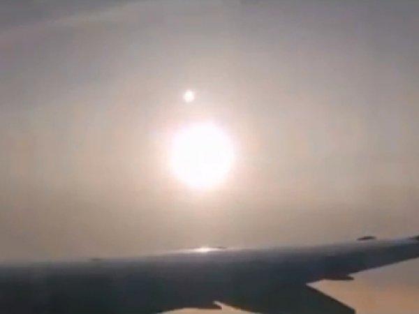За 5 дней до конца света смертоносную Нибиру впервые засняли на видео с борта самолета