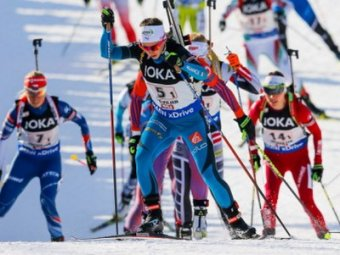 Биатлон, эстафета, женщины, результат 19.01.2019: золото у Франции, россиянки — без медалей