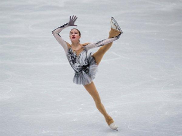 Алина Загитова выиграла короткую программу на чемпионате Европы