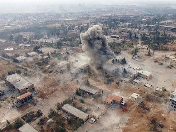 В Сирии при авиаударе коалиции погибли двое россиян