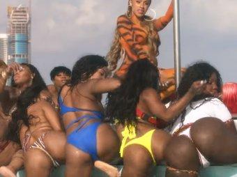 Воспевший тверк клип Cardi B и City Girls собрал почти 5 млн просмотров за несколько часов