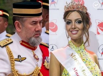 Королева на час: в Сети глумятся над Мисс Москва, ставшей женой отрекшегося короля Малайзии
