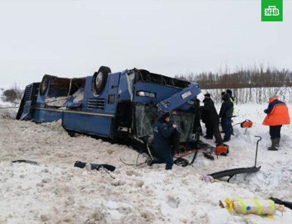 Авария в Калужской области с автобусом с детьми: есть жертвы (ФОТО, ВИДЕО)
