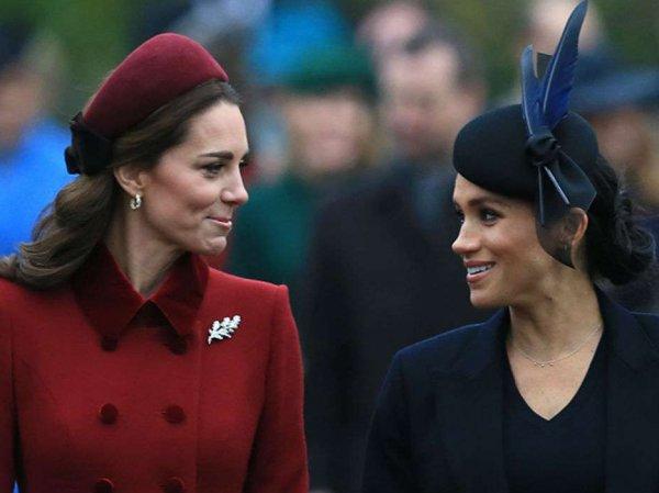 СМИ узнали причину вражды между женами принца Гарри и Уильяма