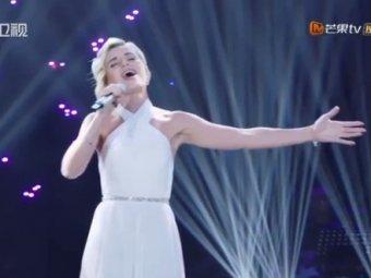 Мы первые!: видео победного выступления Полины Гагариной в китайском Голосе вызвало фурор