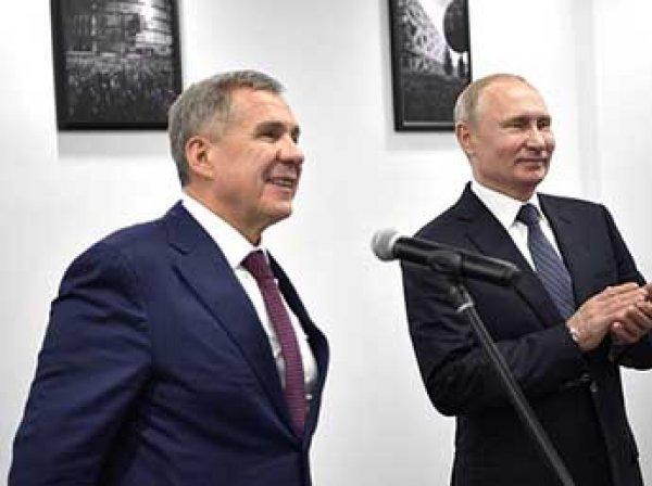 Кремлю пришлось объяснять шутки Путина над главой Татарстана Миннихановым