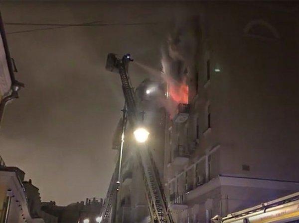 Пожар в центре Москвы в доме с квартирами Сафронова и Дапкунайте: 7 погибших