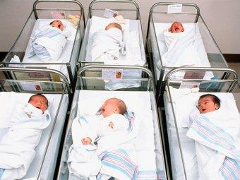 В США женщина за девять минут родила шестерых детей
