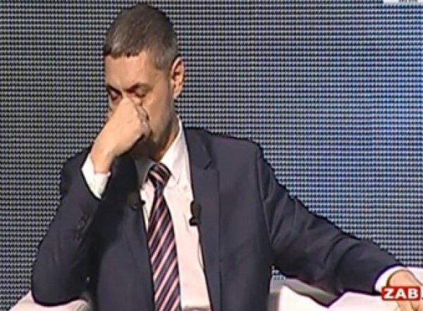 Губернатор Забайкалья расплакался в прямом эфире, отвечая на вопрос многодетной матери (ВИДЕО)