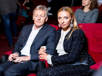 Навка заработала в 20 раз больше Пескова, став самой богатой из кремлевских жен