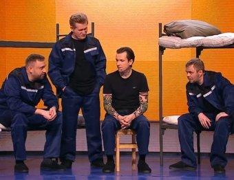 А слабо стулом бомбануть?: Уральские пельмени поиздевались над Кокориным и Мамаевым в тюрьме (ВИДЕО)
