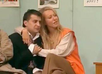 Видео, где Собчак сидит на коленях у Зеленского, появилось в Сети