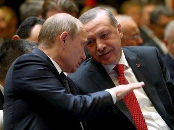 """Встреча Путина и Эрдогана переросла в спор"""""""