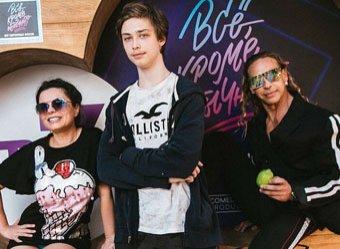 17-летний сын Наташи Королевой и Тарзана впервые показал публике свою возлюбленную (ФОТО, ВИДЕО)