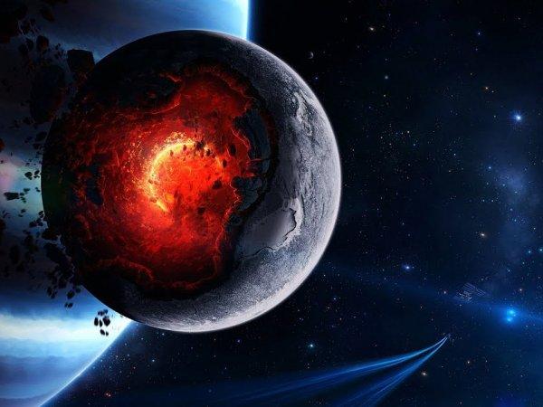 Разрушительные следы Нибиру нашли на Луне и Марсе — на очереди Земля (ФОТО)