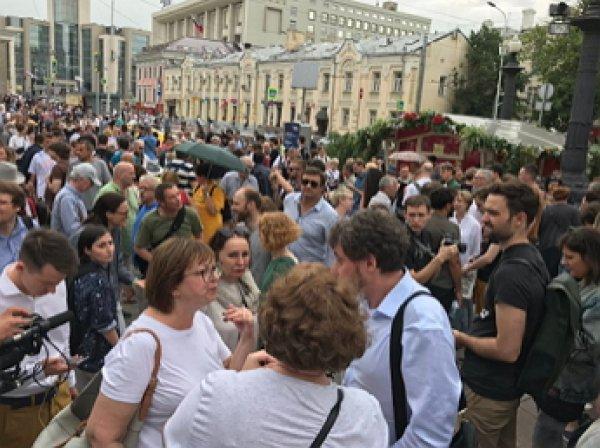 Марш 12 июня в поддержку Голунова: в Москве начались первые задержания (ВИДЕО)