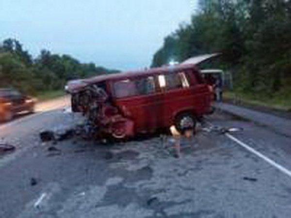 В аварии под Воронежем погибли 8 человек (ФОТО, ВИДЕО)