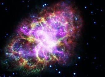 Ученые обнаружили таинственный свет, идущий из космоса