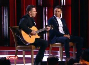 КавалЭры навалили на полу: Гарик Харламов сразил интеллигентной песней о ситуации в России (ВИДЕО)