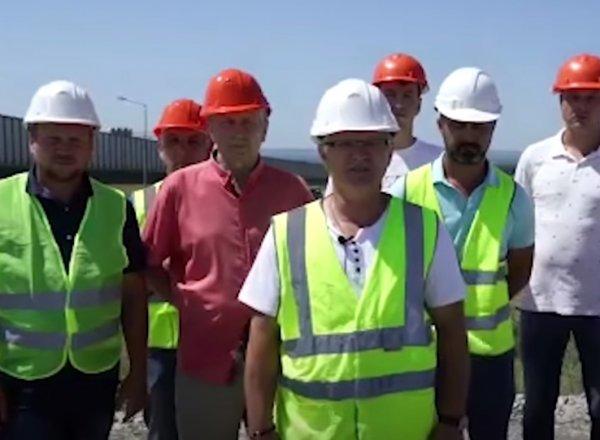 """Строители Крымского моста обратились к Путину, заявив, что их """"кинуло"""" государство (ВИДЕО)"""