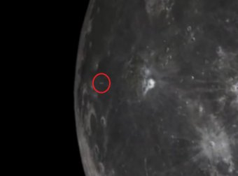 Нибиру атаковала Луну: уникальное видео появилось в Сети