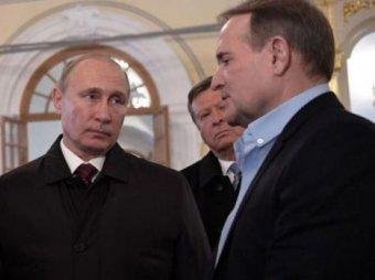 Медведчук рассказал журналистам о том, как стал кумом Путина