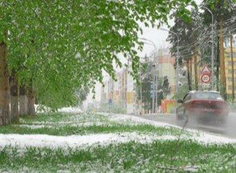 Гидрометцентр прогнозирует снег в России на выходные